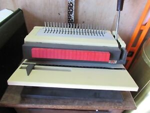Gbc 450 km 2 Heavy Duty Plastic Comb Binder Binding Machine low Price