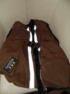 Guardian Fall Protection 02205 Construction Tux Harness Body Vest Brown small