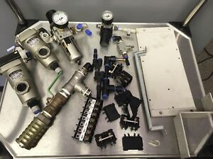 Lot Of Smc Pneumatic Equipment Micro mist Separator