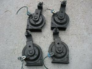 Gm Cadillac Buick Olds Pontiac 4 Horn Set 2 Note A 2 Note F 2 Wire Set up
