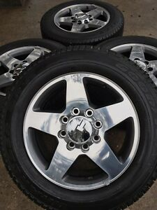20 Chevy 2500hd 2500 Wheels Rims Tires Rines 20 Inch New