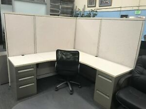 Steelcase Ivory 6x6 Cubicle local Pick Up Only