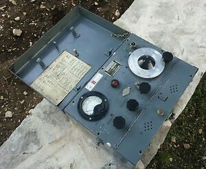 com Military Wavemeter W1432 Not Working Only For Spare Parts