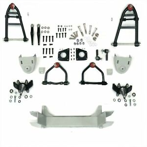 1928 47 Ford Mustang Ii 2 Ifs Front End Suspension Kit 2 In Drop Spindles Car