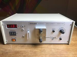 Knauer Variable Wavelength Monitor