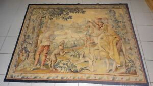 Belgian 19th Century Tapestry H G Geets