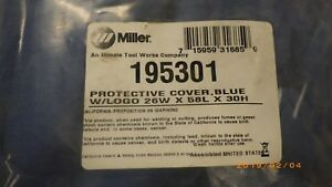 Miller Welder Cover 195301 Big Blue 350 Pipepro 400 Pro 450 Duo Cst