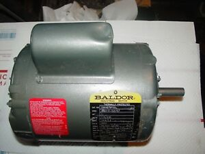 1 Hp 3450 Rpm New Baldor Electric Motor 56 Frame 115 230volt C664679p03 1 25 Sf