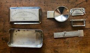 Antique Dr C H Fitch S Prescription Scale Patented 1885 Complete Apothecary Rx