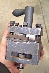 Turret Tool Post W Rockers For Metal Lathe Southbend Clausing Logan Hardinge