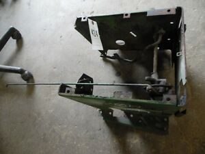 John Deere 4010 Tractor Steering Tower Base W Linkages Levers Tag 414
