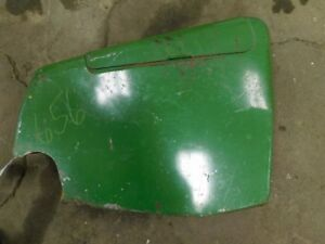 John Deere 20 Series Tractor Rear Lh Hydraulic Cover Panel W Tool Box Tag 656