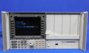 Agilent Hp Keysight 70004a Color System Display Mainframe Untested Item As Is