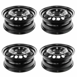 New Steel Wheels Fits 2005 2010 Chevy Cobalt 9595086 15 Inch 4 Lug Set Of 4