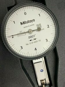 Mitutoyo 513 403 10e Dial Test Indicator 008 Range 0001 Graduation New