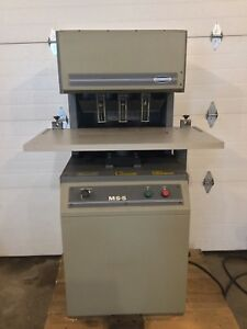 Challenge Ms 5 Multiple Spindle Paper Drill Bindery And Finishing Equipment