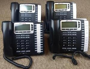 Allworx 9212l Voip Phone Lot Of 4 Phones Bases And Handsets No Power Supplies