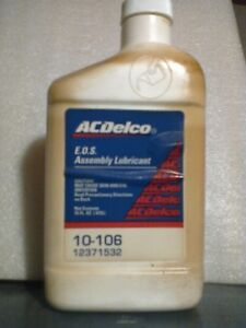 Gm Acdelco Eos Engine Oil Supplement Gm 1052367 Zddp The Original Good Stuff