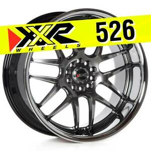 Xxr 526 20x10 5 5x114 3 5x120 35 Chromium Black Wheels Set Of 4
