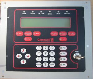 Gamewell If 602 Fire Alarm Control Panel Display 2 Loop 31086