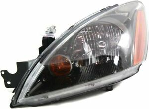 Headlight For 2004 2007 Mitsubishi Lancer Driver Side W Bulb