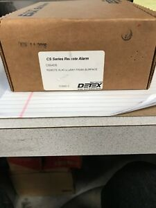 Detex Cs940s Series Remote Alarm