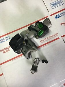 03 04 05 Honda Civic Ignition Switch Cylinder Lock Auto Tr Immobilizer 1 Key