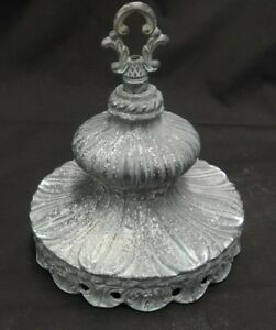 Antique Metal Lamp Fixture Shabby Chic Unwired Home Decor