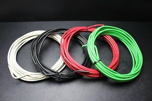 6 Gauge Thhn Wire Stranded 4 Colors 25 Ft Each Thwn 600v Copper Cable Awg