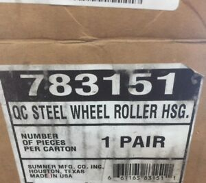 Sumner Pipe Stand Roller Wheels 783151 new