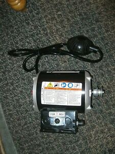 Ridgid 53333 Motor For K 400 Drain Cleaning Machine With 37967 Foot Pump