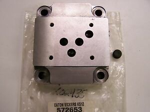 Eaton Vickers Dgsm 01 20 t8 Valve Mounting Sub plate 572653 New