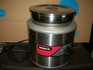Nemco 6100a Soup Warmer W Inset Cover