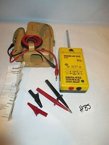 Greenlee 5715 Gas Lamp Tester And Pouch All Probes Instructions Excellent Lt 277