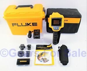 Fluke Ti25 Thermal Imager Ir fusion Camera Imaging In Hard Case