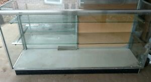 Glass Display Cabinet With Black Bottom