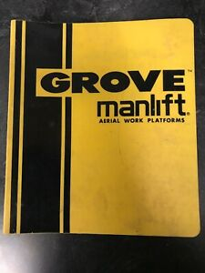Grove Crane Sm2033e Sm2633e Manlift Spare Parts Operation Owner Operator Manual