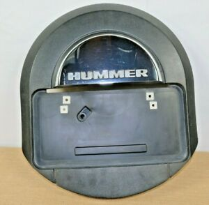 Hummer H2 Spare Tire Cover W Hummer H2 Licence Plate Bracket Official Gm Prod