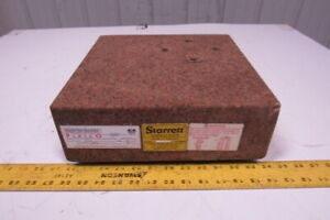 Starrett Pink Granite Surface Inspection Plate 12 X 12 X 4 Grade A