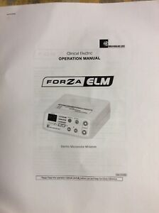 Forza Elm Electric Dental Motor And Handpiece