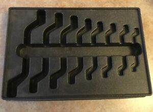 Snap On Tools Pak43590 Organizer Tray For Metric 8 Piece 4 Way Angle Wrench Set