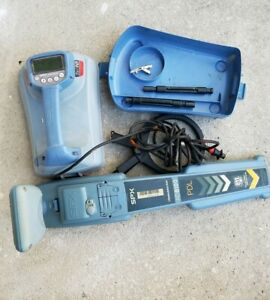 Rd8100 Utility Cable And Pipe Locator Receiver With Bluetooth 5 Clamp
