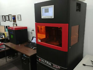 Envisiontec Ultra 3sp 3d Printer Complete Commercial Turnkey System reduced