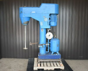 Used Bowers Disperser Model 720 15 Hp