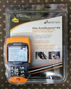 Actron Cp9690 Elite Autoscanner Kit Enhanced Obd I And Obd2 Scan Tool New In Box