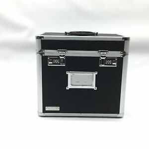 Vaultz Locking File Security Box Letter Size 13 5 X 10 5 Inches Black vz0116