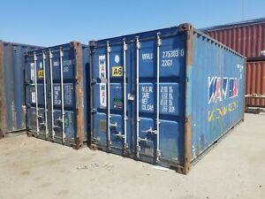 20 Cargo Worthy Shipping storage Container In Wilmington California
