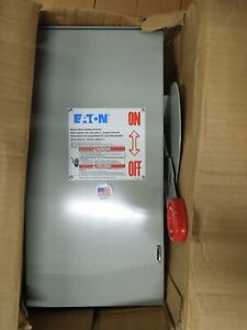 Eaton Dh361ugk Heavy Duty Non fusible Safety Switch 30a 3w 600v Type 1 Encl New