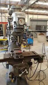 Bridgeport Milling Machine With Southwest Industries Trak 100 Cnc Monitor