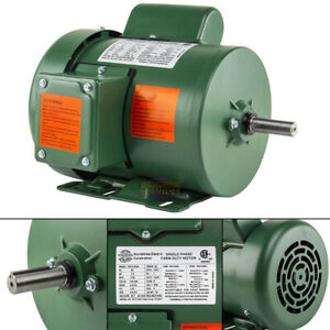 1 3 Hp Single Phase Farm Duty Electric Motor 56 Frame 1800 Rpm Tefc Enclosure